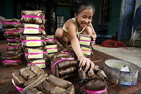 Bánh gai truyền thống Ninh Giang